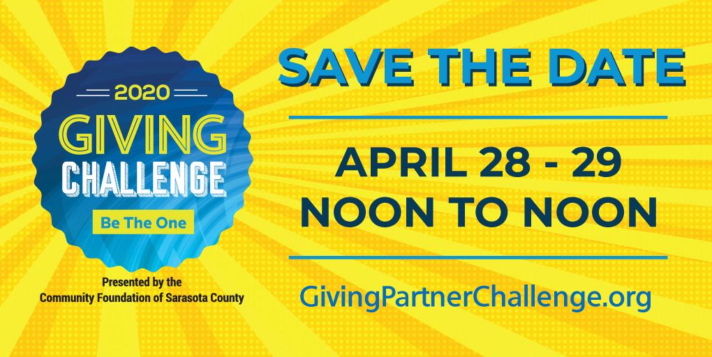 Save the Date: 2020 Giving Challenge April 28-29, 2020